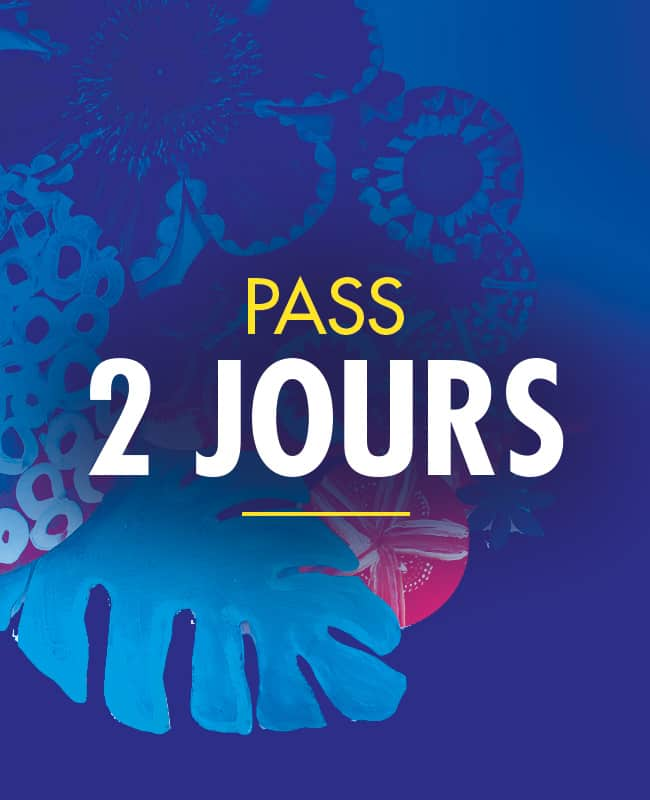 PASS 2 Jours Solidays