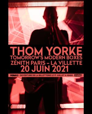 Thom Yorke Zénith Paris