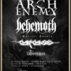 arch enemy et behemoth Zenith Paris 2021