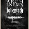 arch enemy et behemoth Zenith Paris 2021