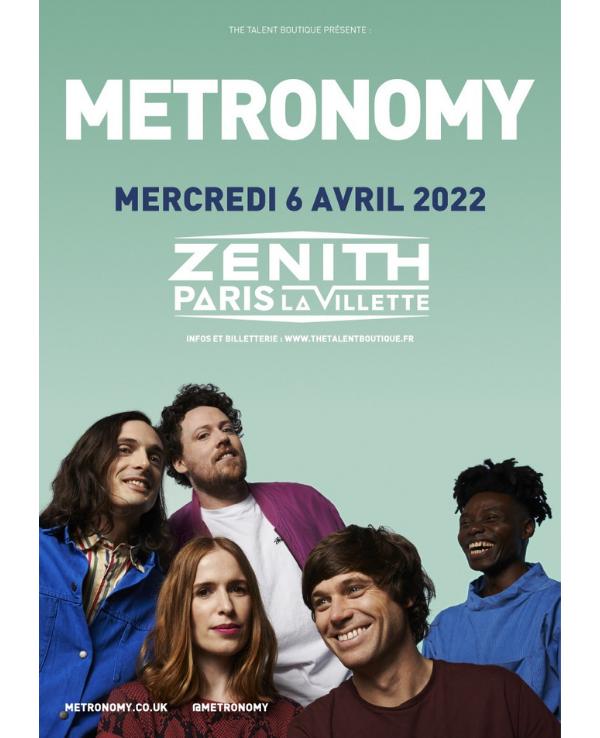 Metronomy 2022 zenith paris