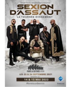 Concert Sexion d'assaut report 2022