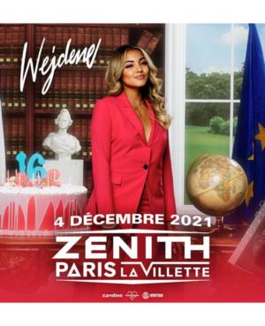 Wejdene 2021 Zenith Paris