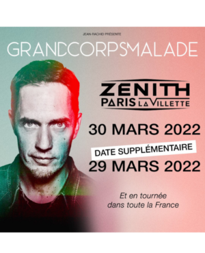 Concert gcm Zenith Paris