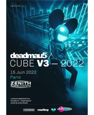 deadmau5 Zénith Paris La Villette