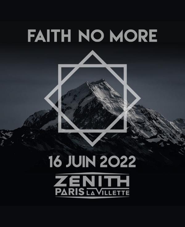 Faith no more 2022 Zénith Paris