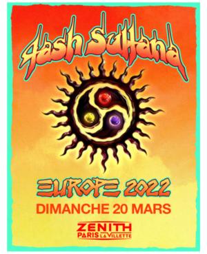 Tash Sultana 2022 Zénith Paris