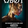 Oboy 2022 Zénith Paris La Villette