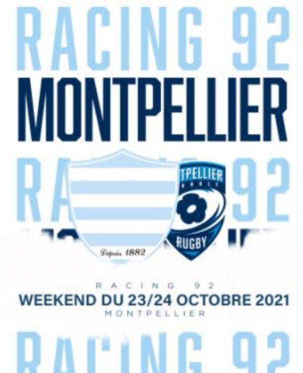 racing 92 montpellier 23 24 oct 2021